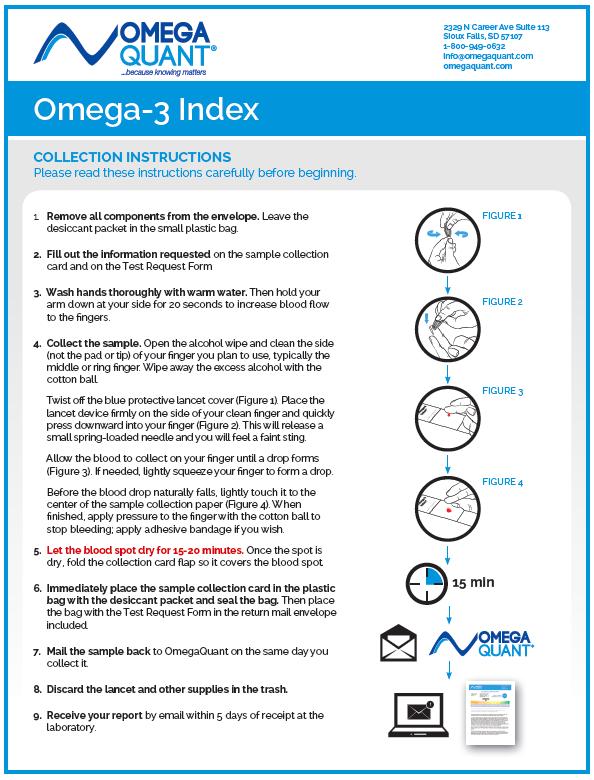 Omega-3 Index Kit Instructions