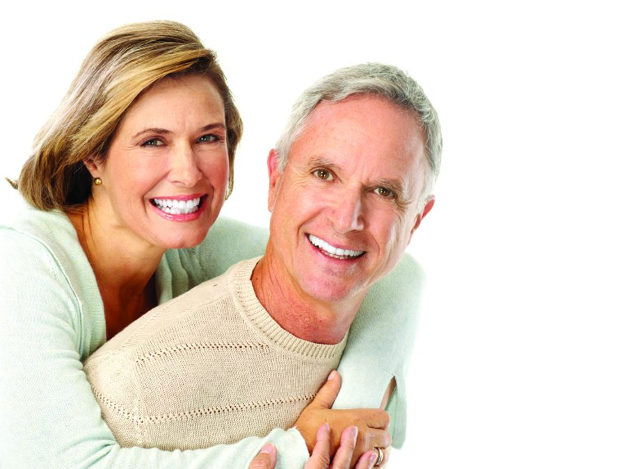 healthy older couple