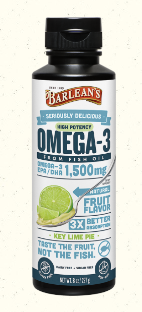 Barleans Seriously Delicious Omega-3s
