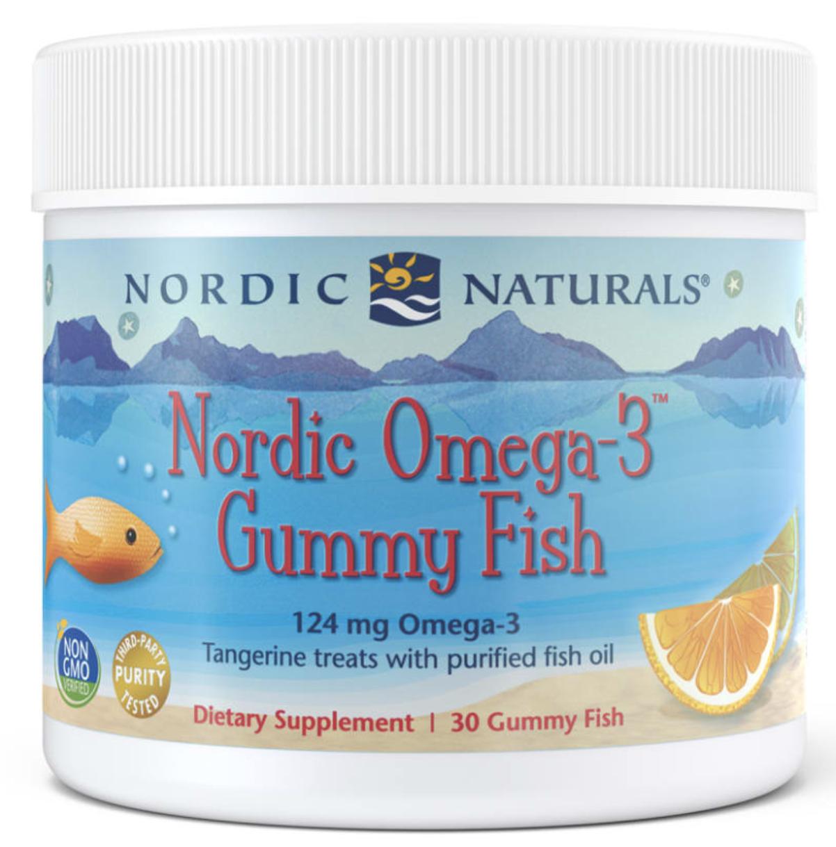 Nordic Naturals Omega-3 Gummy Fish