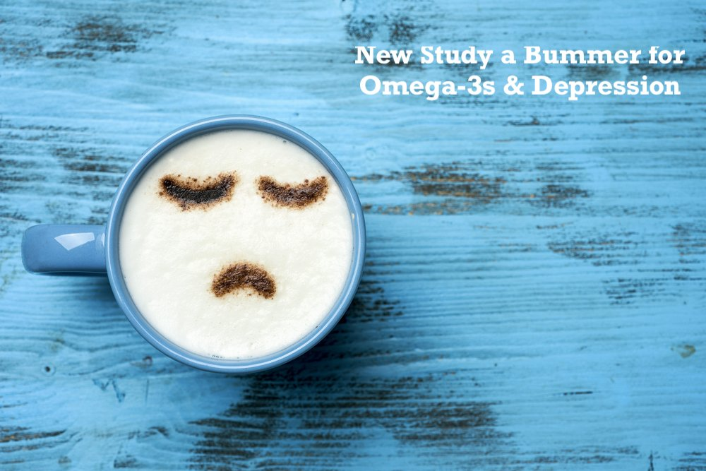 New Study a Bummer for Depression and Omega-3s, and Here's Why…