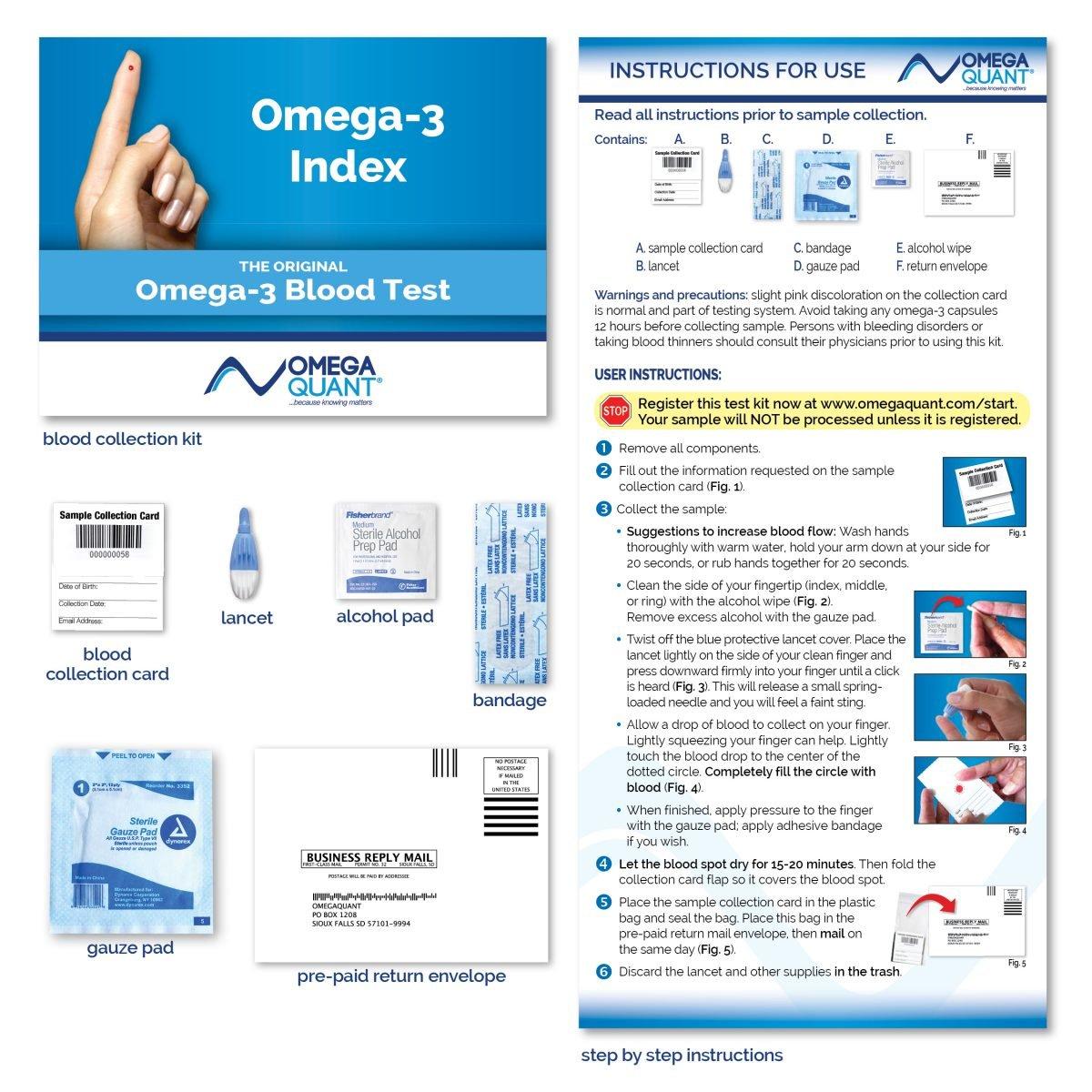 Omega-3 Index Basic   OmegaQuant